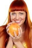 Wil aan grapefruit? royalty-vrije stock afbeelding