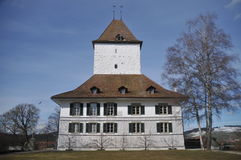 Wil Castle. Is located in the village of Schlosswil in the canton of Bern in Switzerland. Today it is a museum which is open to the public Royalty Free Stock Photo