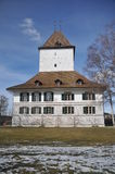 Wil Castle. Is located in the village of Schlosswil in the canton of Bern in Switzerland. Today it is a museum which is open to the public Royalty Free Stock Image