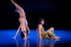 Wil niet in slaap vallen 4-handeling 1: Slaap-modern Dansdromenland stock afbeeldingen