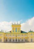 wilanow Польши warsaw дворца Стоковая Фотография