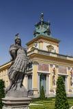 wilanow Польши warsaw дворца Стоковое Фото
