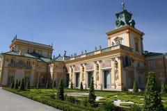 wilanow Польши warsaw дворца Стоковое Изображение RF