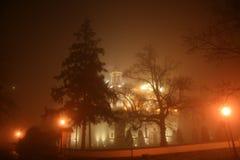 Wilanow brumeux photo libre de droits