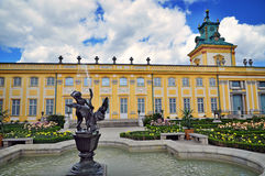 Wilanow chateau Royalty Free Stock Photos