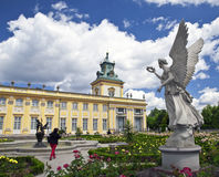 Wilanow chateau Royalty Free Stock Photography