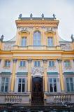 Wilanow pałac Obraz Royalty Free