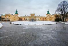 Wilanow pałac Obrazy Royalty Free