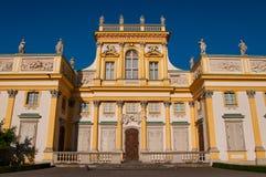 Wilanow pałac Obrazy Stock