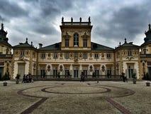 Wilanow pałac Zdjęcia Stock