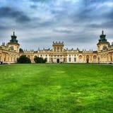 Wilanow pałac obraz stock