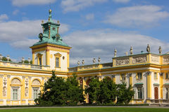 Wilanow Palace & Gardens. Warsaw. Poland. Royalty Free Stock Image