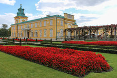 Wilanow Palace & Gardens. Warsaw. Poland. Stock Images