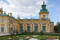 Wilanow Palace & Gardens. Warsaw. Poland. stock photography