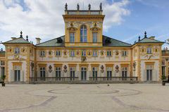 Wilanow Palace & Gardens. Warsaw. Poland. stock photos