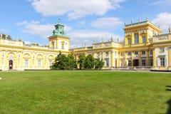Wilanow Palace & Gardens. Warsaw. Poland. Royalty Free Stock Image