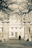 Wilanow Palace gate Stock Photography