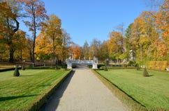 Wilanow Palace - park Royalty Free Stock Image