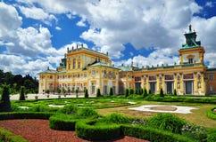 Wilanow palace Poland royalty free stock photography