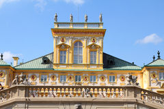 Wilanow palace in Warsaw Stock Image