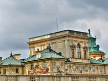 Wilanow palace in Warsaw Royalty Free Stock Photos