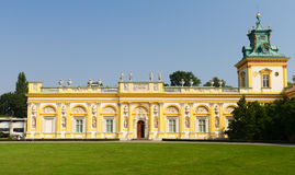 Wilanow Palace in Warsaw, Poland Stock Photography