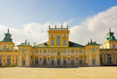 Wilanow palace, Warsaw, Poland Stock Photos