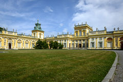 Wilanow Palace in Warsaw, Poland Stock Photo