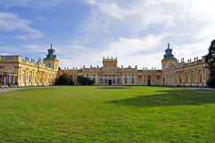 Wilanow Palace, Warsaw, Poland. Stock Images