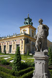 Wilanow Palace, Warsaw, Poland Royalty Free Stock Images