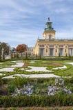 Wilanow Palace, Warsaw, Poland. Royalty Free Stock Photos