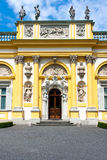 Wilanow Palace in Warsaw stock photography