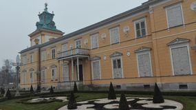Wilanow-Palast, Warschau Lizenzfreie Stockbilder
