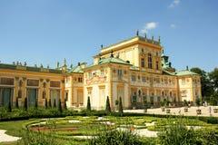 Wilanow Palast in Warschau, Polen Lizenzfreie Stockfotos