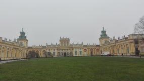 Wilanow, Polen Stock Foto's