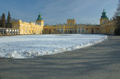 Wilanow Royal Park Stock Photos