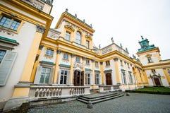 Wilanow slott Royaltyfri Foto