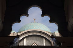 Wilayah Mosque Entrance Stock Images