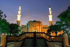 Wilayah Mosque or Federal Territory Mosque Royalty Free Stock Images