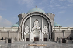 Wilayah Mosque Main Entrance Royalty Free Stock Image