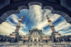 Wilayah Persekutuan mosque in Kuala Lumpur Stock Images