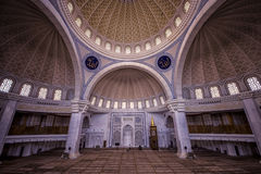 Wilayah Persekutuan mosque in Kuala Lumpur Royalty Free Stock Photo