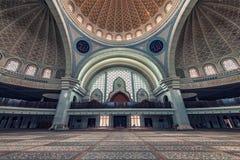 Wilayah Persekutuan mosque in Kuala Lumpur Royalty Free Stock Photos