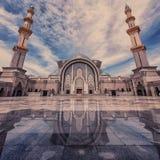 Wilayah Persekutuan mosque in Kuala Lumpur. Main mosque in Kuala Lumpur, Malaysia Stock Photography