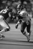 Wilbur Marshall. Washington Redskins LB Wilbur Marshall, #58. (Image taken from B&W negative Royalty Free Stock Photo