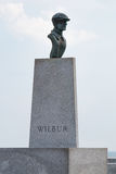Wilbur Wright Statue a Wright Brothers National Memorial Fotografie Stock Libere da Diritti