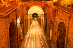 Wilbur Wright tunnel Royalty Free Stock Photo