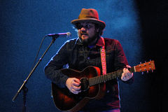 Wilco band performs at Gran Teatre del Liceu Royalty Free Stock Photography