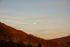 Wilcze góry, wilcze gà ³ ry, bieszczady, jesień Fotografia Royalty Free