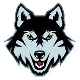 Wilczy logo Zdjęcie Stock